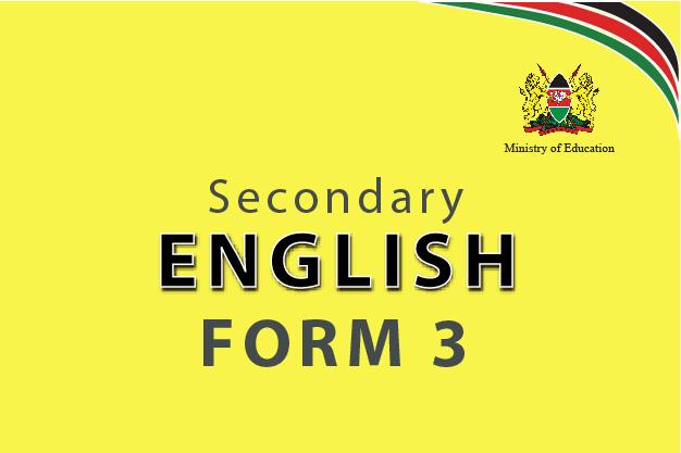 English Form 3