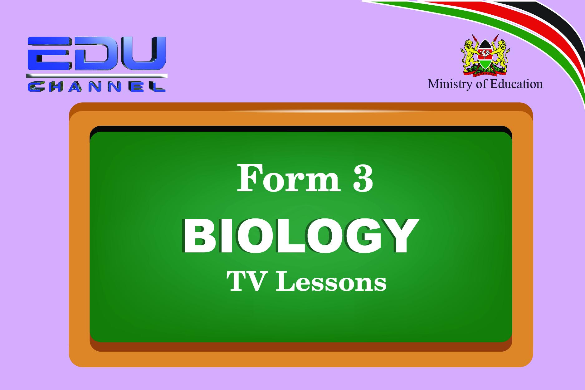Form 3 Biology Lesson 1: Classification II
