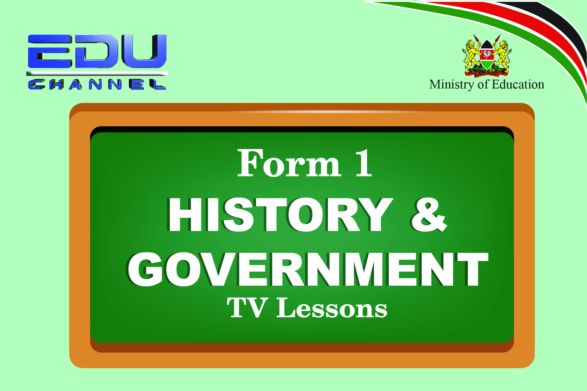 History and Government  Lesson 1: Introduction