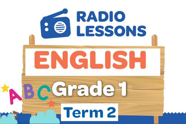 Grade 1 English Radio Lessons