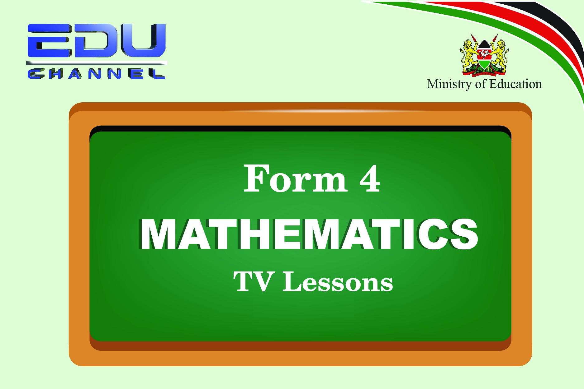 Form 4 Mathematics Lesson 5:Three dimensional geometry - Trigonometry