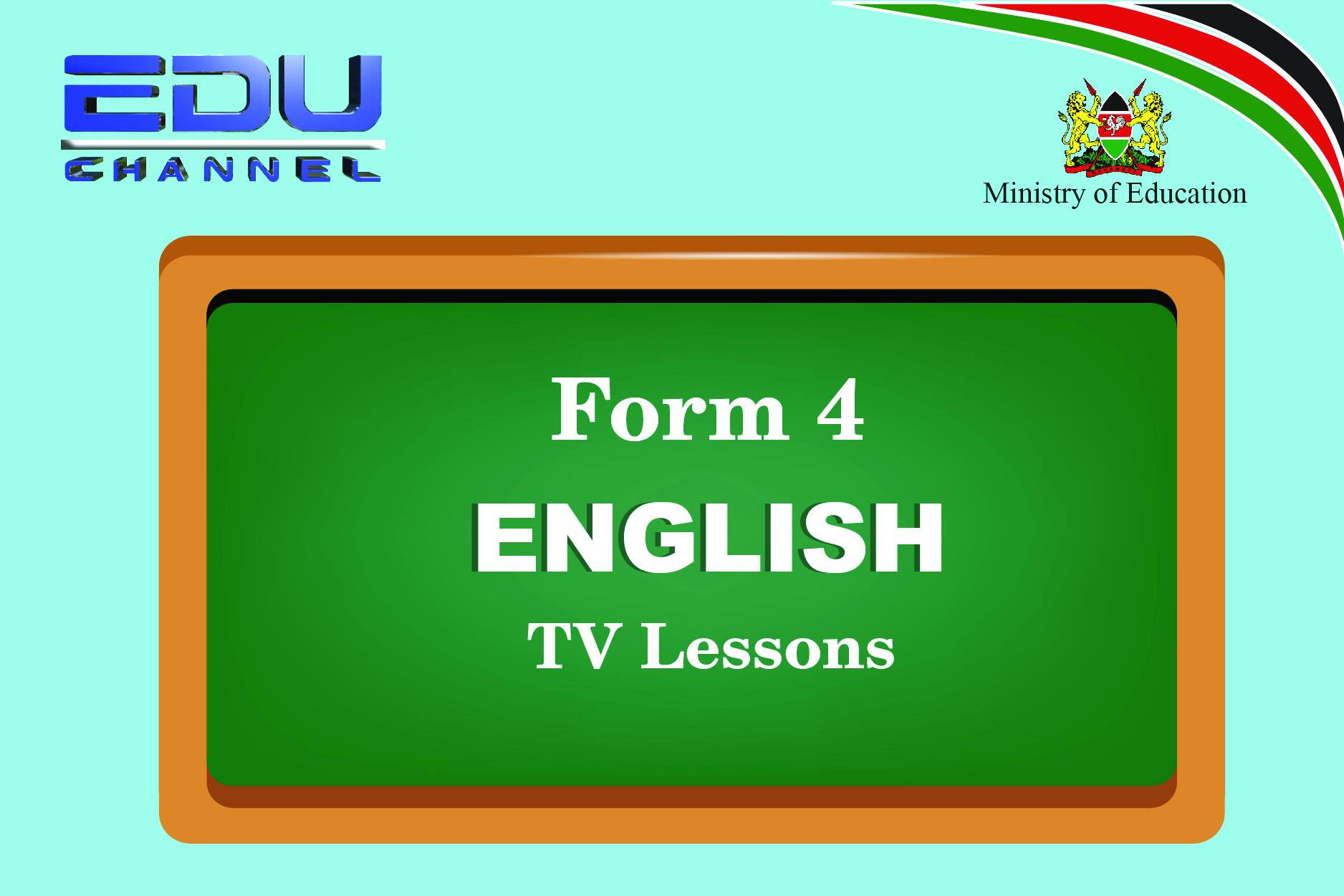 Form 4 English  Lesson 9: Oral Literature - Proverbs